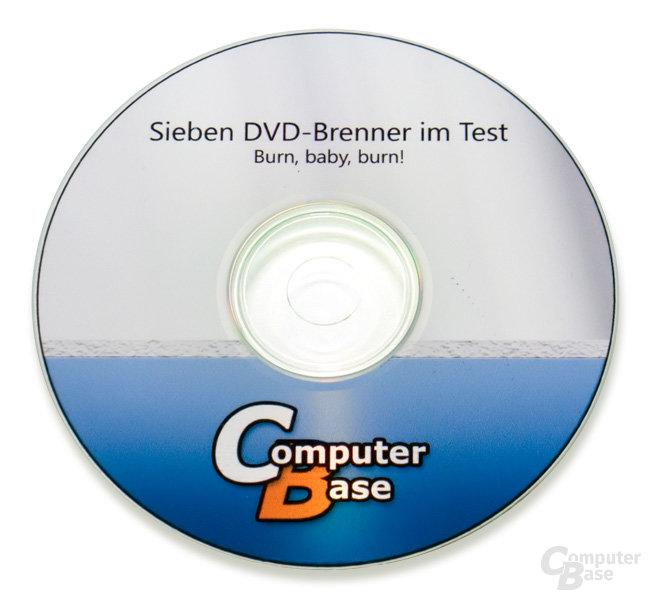 Bedruckte CD