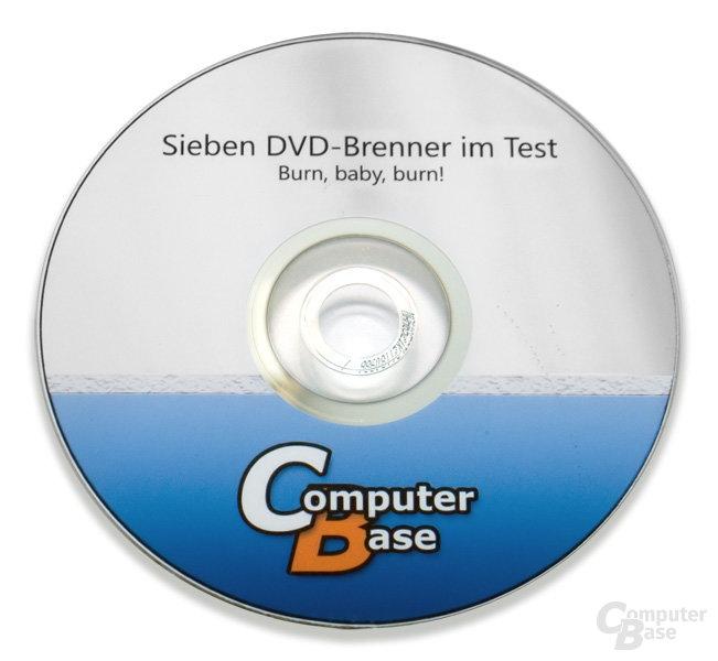 Bedruckte DVD