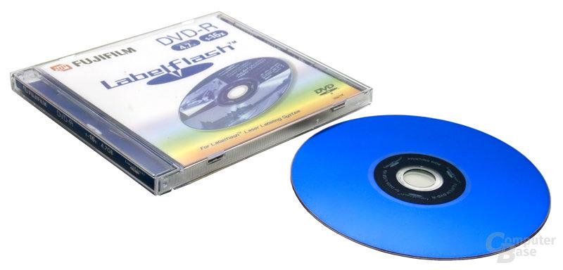 LabelFlash Hülle & DVD