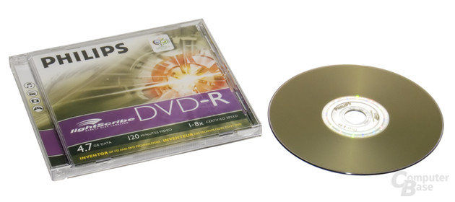 LightScribe Hülle & DVD