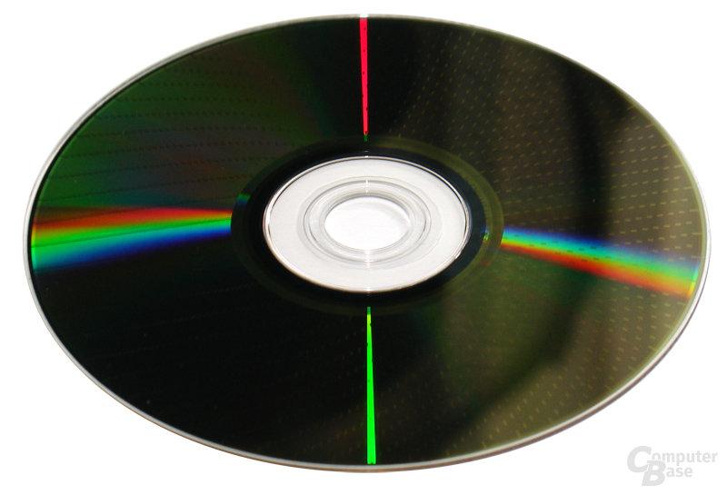 DVD-RAM - goldbraune Oberfläche