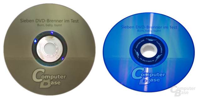 """Vergleich LightScribe """"Beste"""" vs. LabelFlash - """"Beste Qualität"""""""