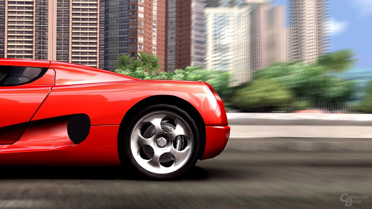 """Bilder des """"Koenigsegg CC8S"""" aus """"Test Drive: Unlimited"""""""