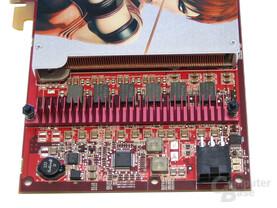 Radeon X1900 GT Spannungswandler