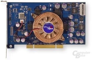 PhysX-Referenzkarte von AGEIA