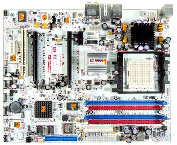PC-A9RD580 Komponenten