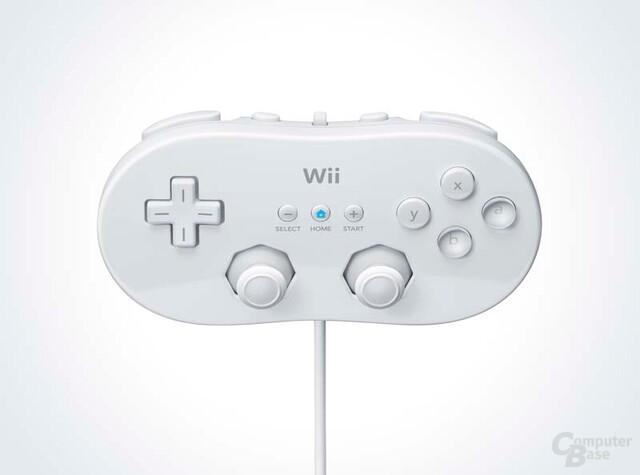 Klassischer Controller des Nintendo Wii