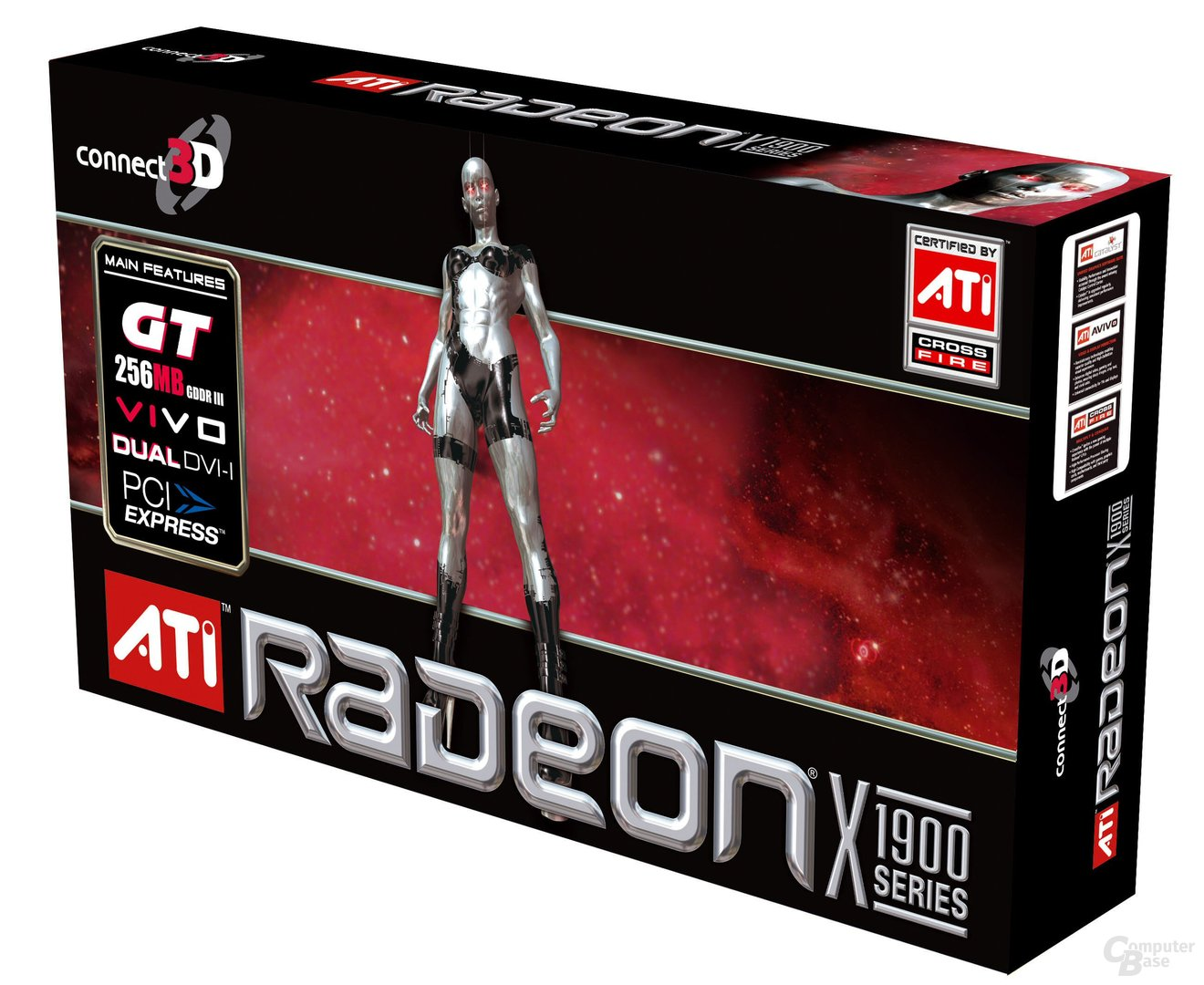 Connect3D Radeon X1900 GT - Box