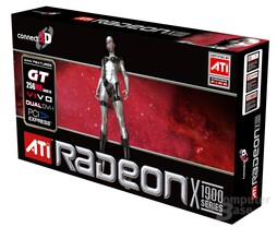 Connect3D Radeon X1900 GT - Box