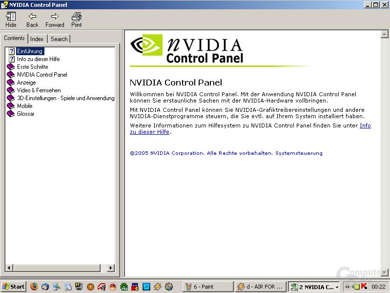 nVidia-Hilfe