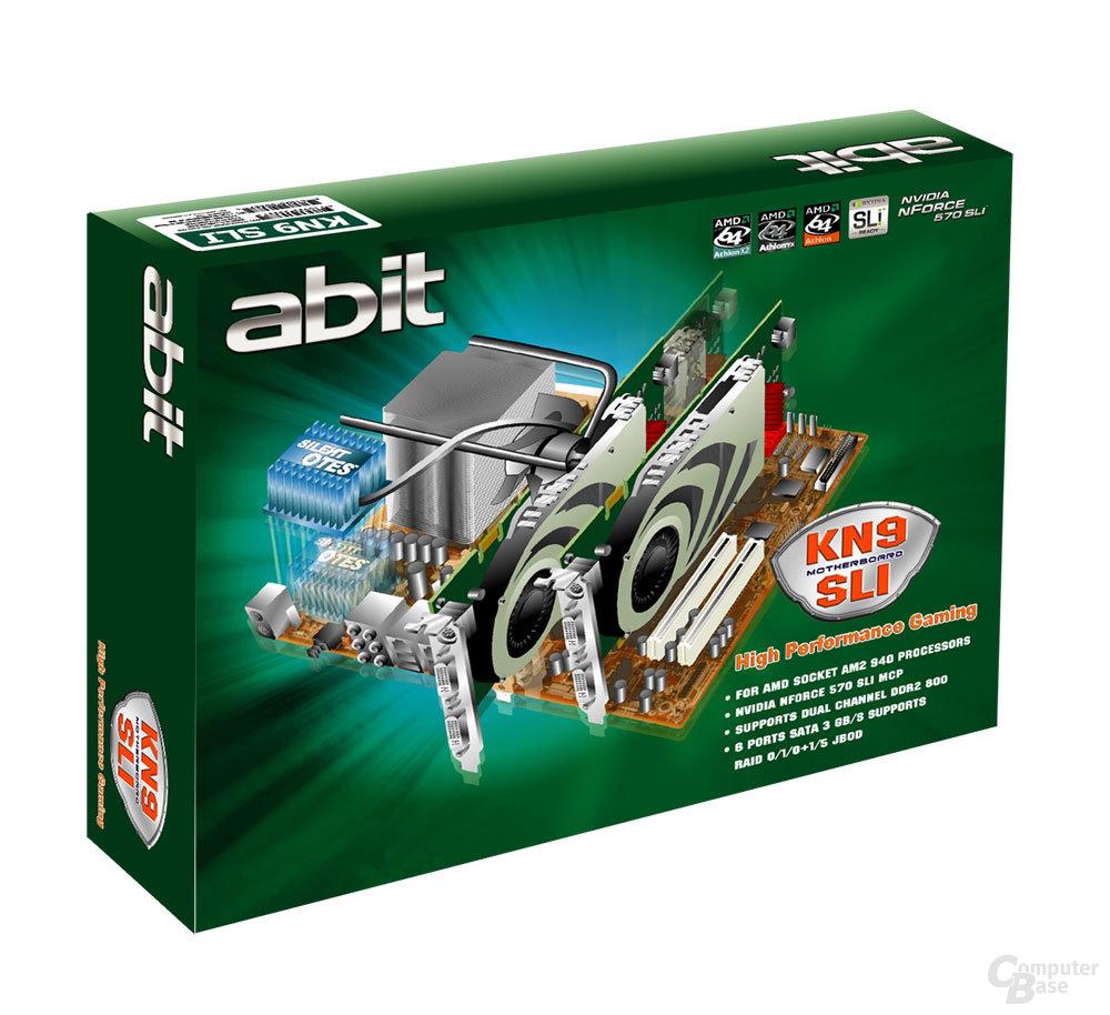 Abit KN9 SLI Box