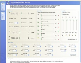 Eingeschränktes nVidia nTune 5 auf Asus M2N32-SLI Deluxe