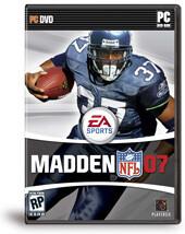 Standardisierte Verpackung von Madden NFL 07