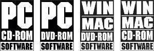 CD-ROM-Logos der IEMA