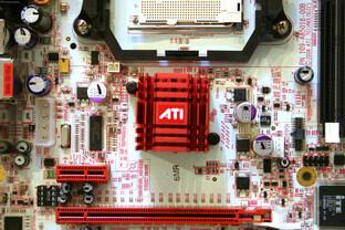 ATi Radeon Xpress 3200 mit SB600 Referenzboard für Sockel AM2