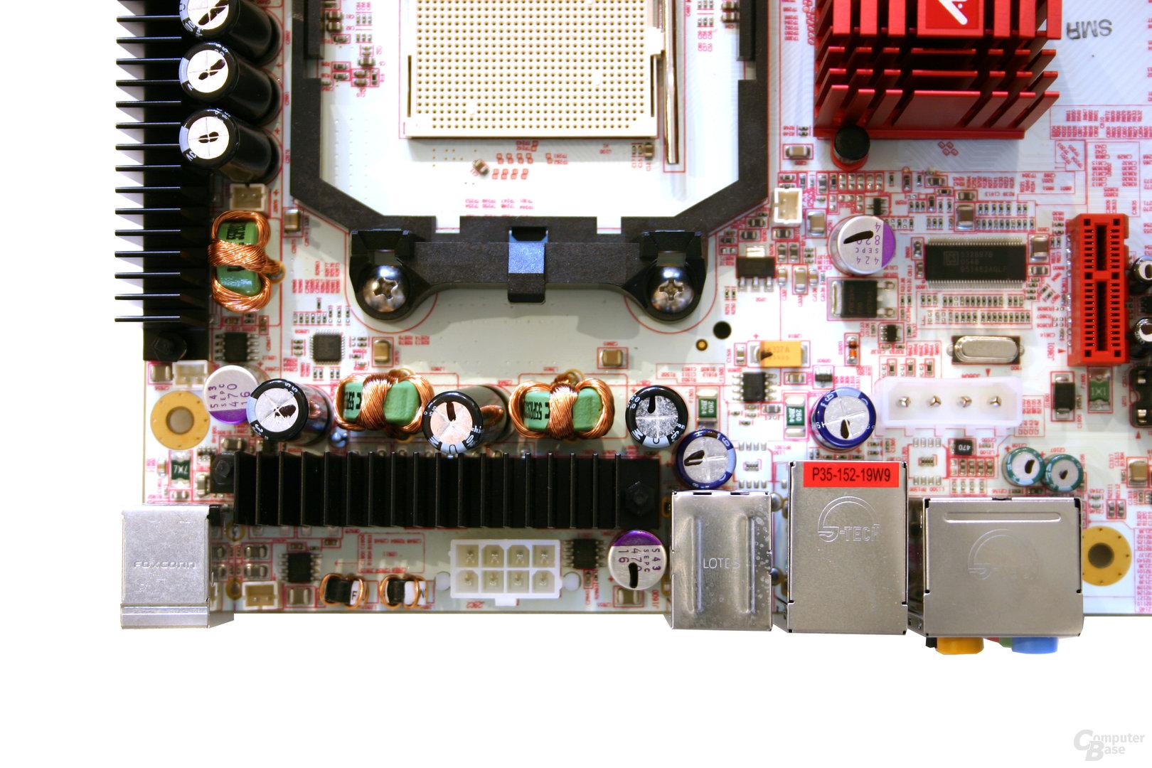 ATi CrossFire Xpress 3200 mit SB600 Referenzboard für Sockel AM2