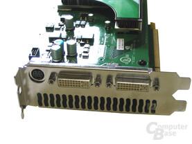 GeForce 7950 GX2 Slotblech