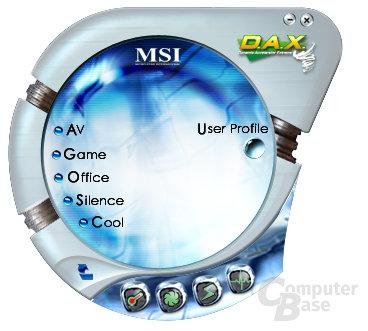 MSI CoreCenter