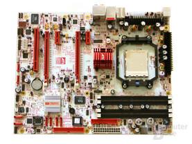 ATi CrossFire Xpress 3200 mit SB600 Referenzboard