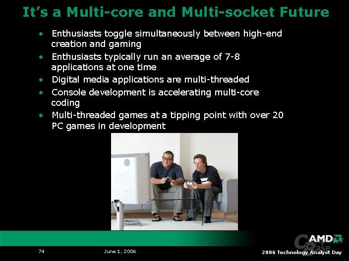 AMDs Zukunft: Multi-Core und Multi-Sockel