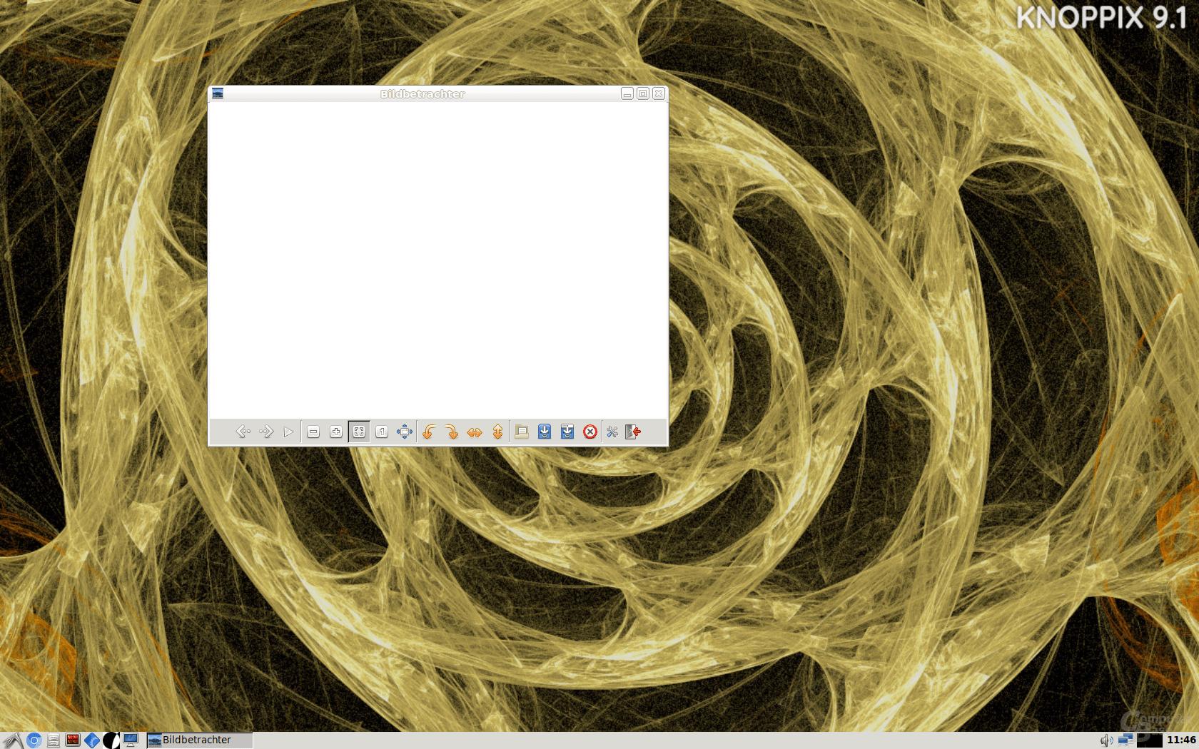 KNOPPIX 9.1 – Bildbetrachter