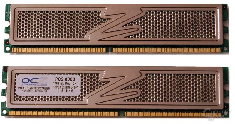 OCZ DDR2 PC2-8000 Platinum XTC Extreme Edition