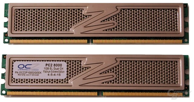 OCZ DDR2 PC2-8000 Platinum XTC Extreme Edition