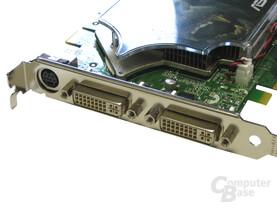 Asus EN7900GT TOP Slotblech