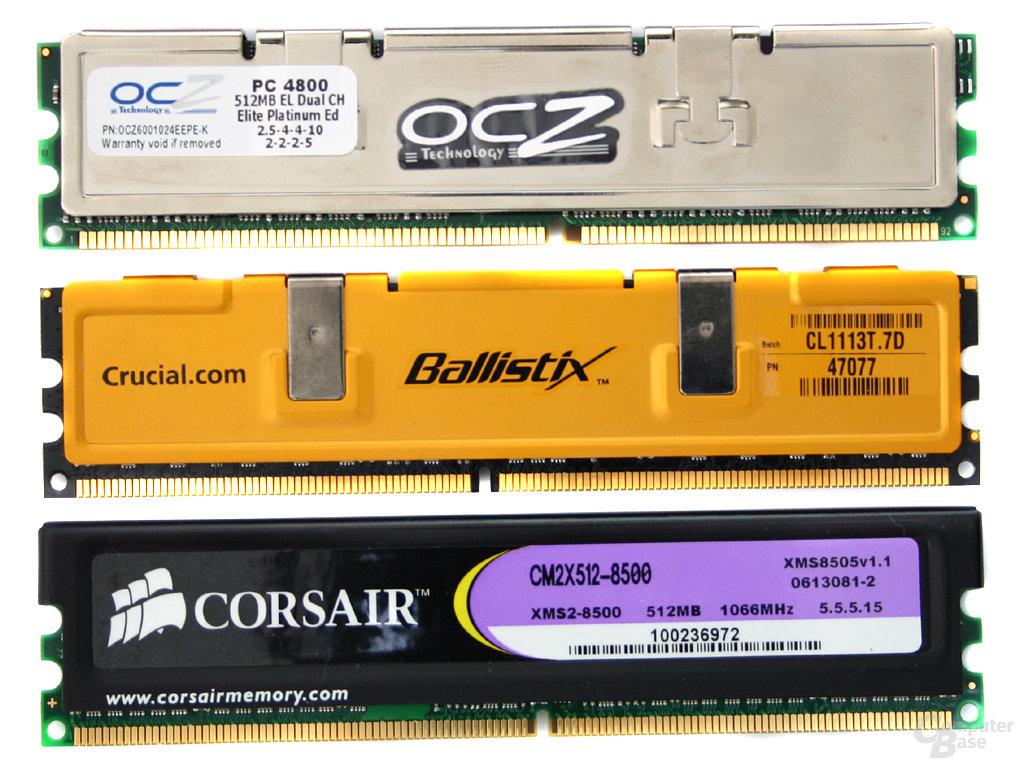 Mit diesem Speicher testet ComputerBase