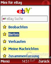 Opera Mini für eBay