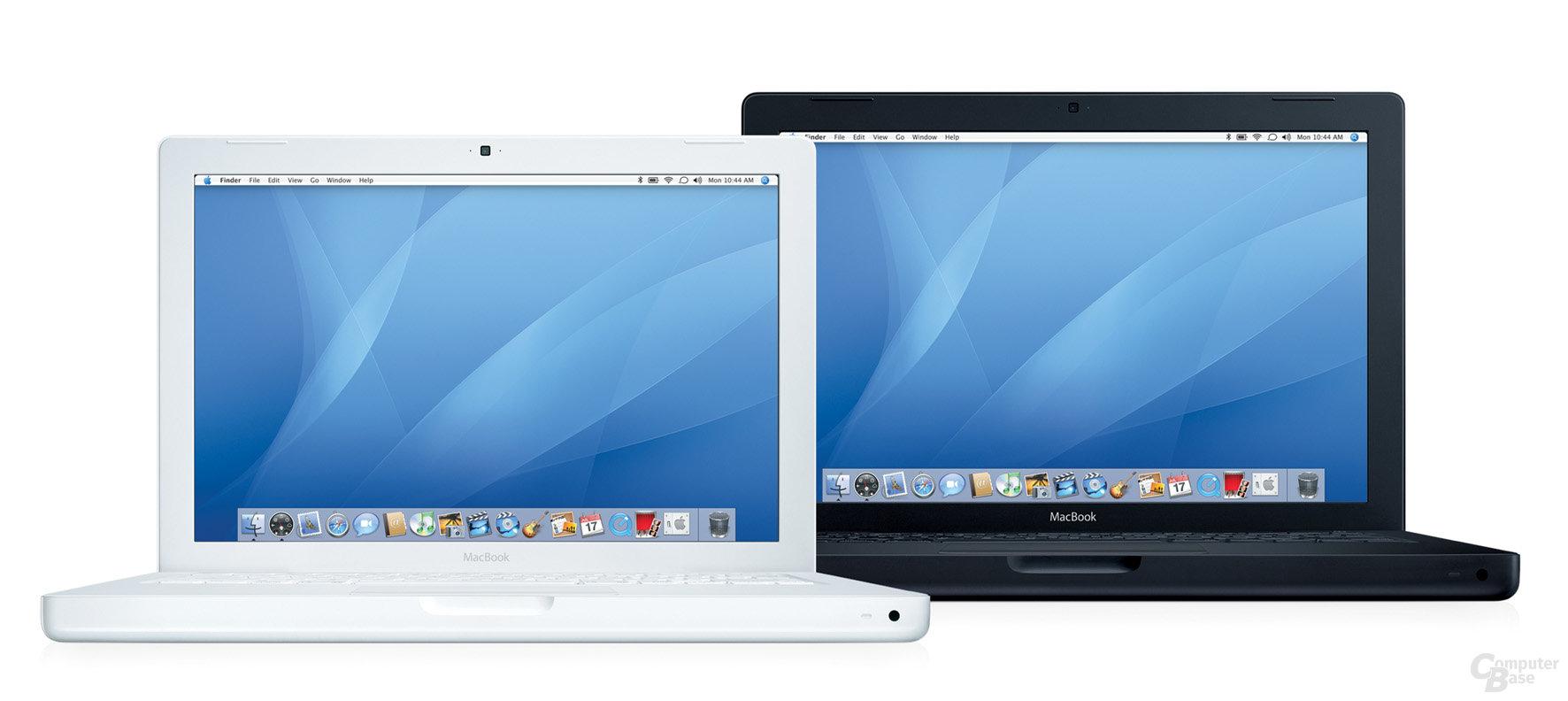 MacBook mit Intel Core Duo-Prozessoren