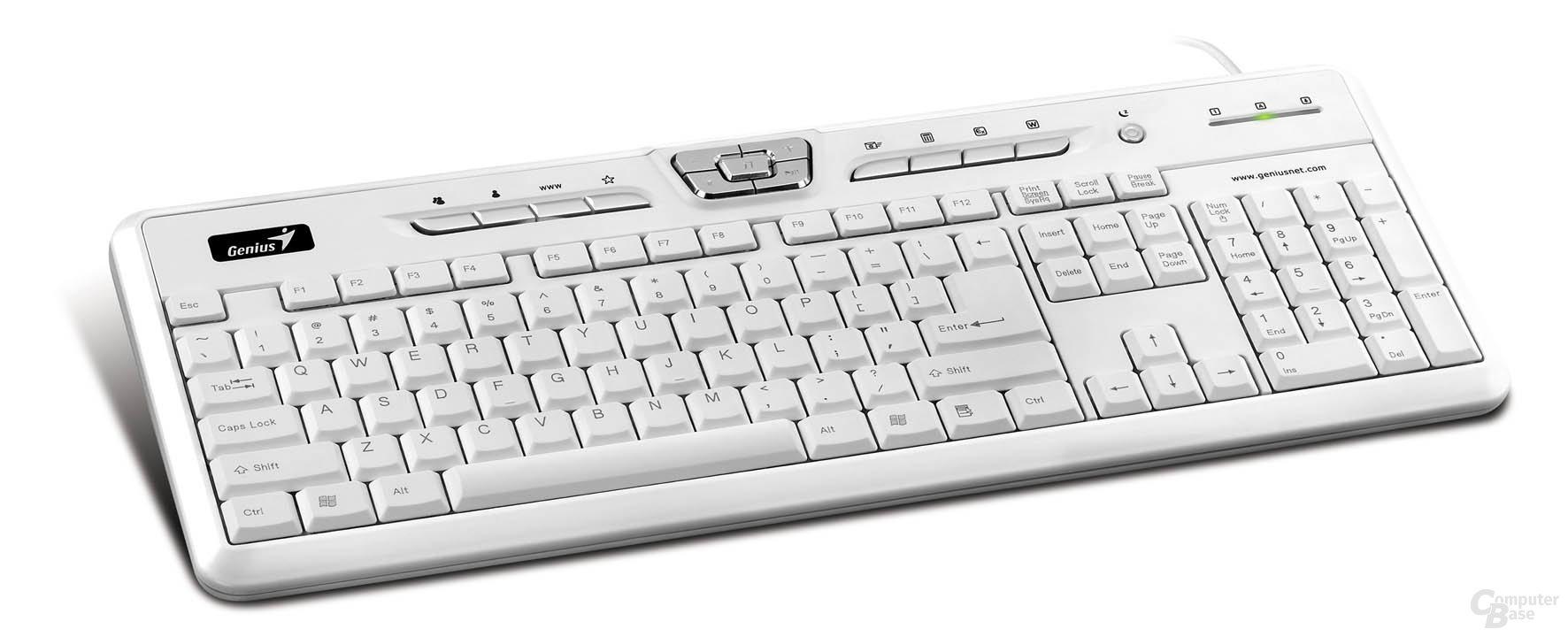 Genius SlimStar 310 white