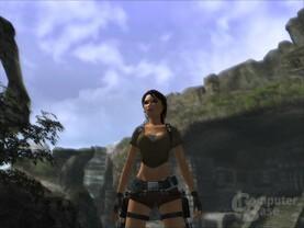 Bild aus der neuen Demo zu Tomb Raider Legend mit sämtlichen Grafik-Features der Vollversion