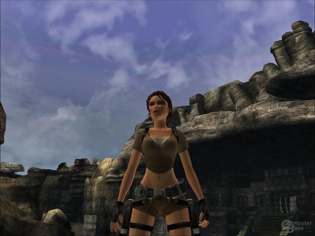 Bild aus der alten Demo zu Tomb Raider: Legend