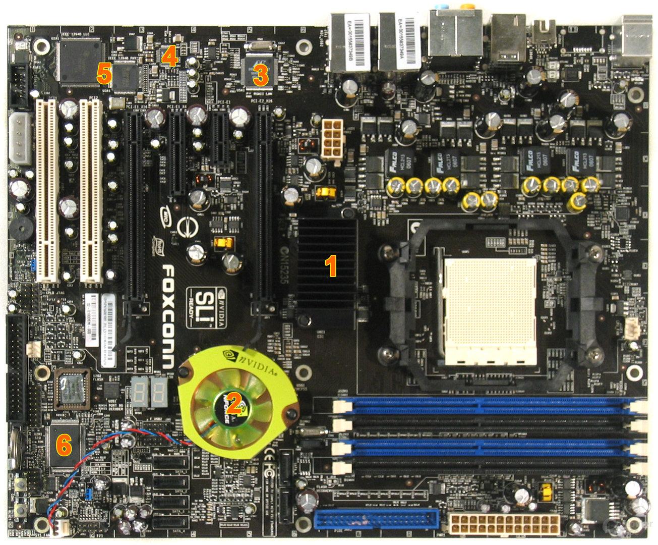 Foxconn C51XEM2AA Komponenten