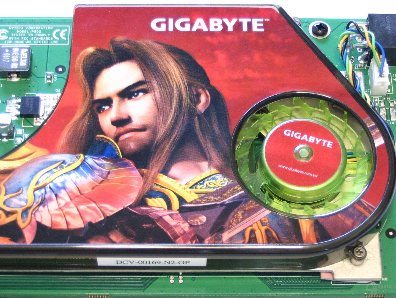 Gigabyte GeForce 7950 GX2 Luefter