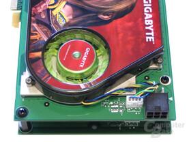Gigabyte GeForce 7950 GX2 Spannungswandler