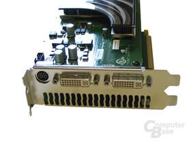 Leadtek WinFast PX7950 GX2 Slotblech