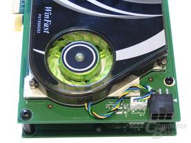 Leadtek WinFast PX7950 GX2 Spannungswandler