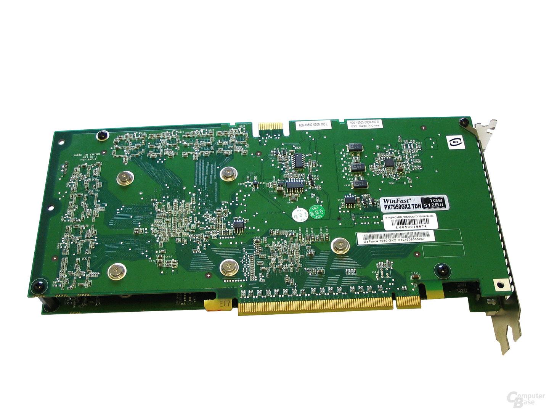WinFast PX7950 GX2 Rueckseite