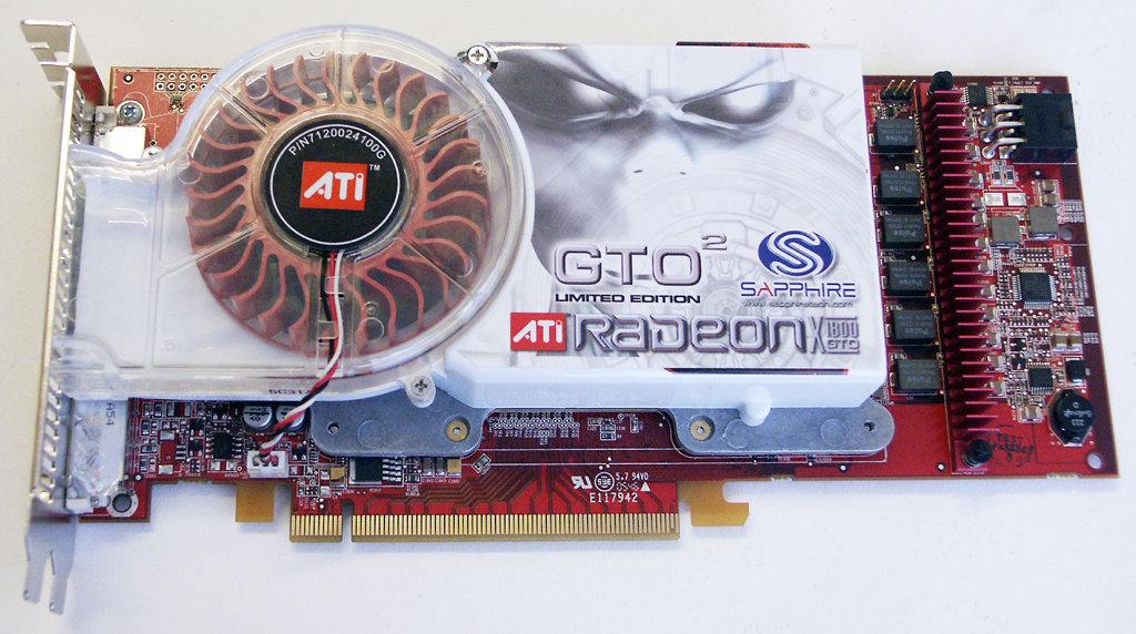 Sapphire Radeon X1800 GTO²