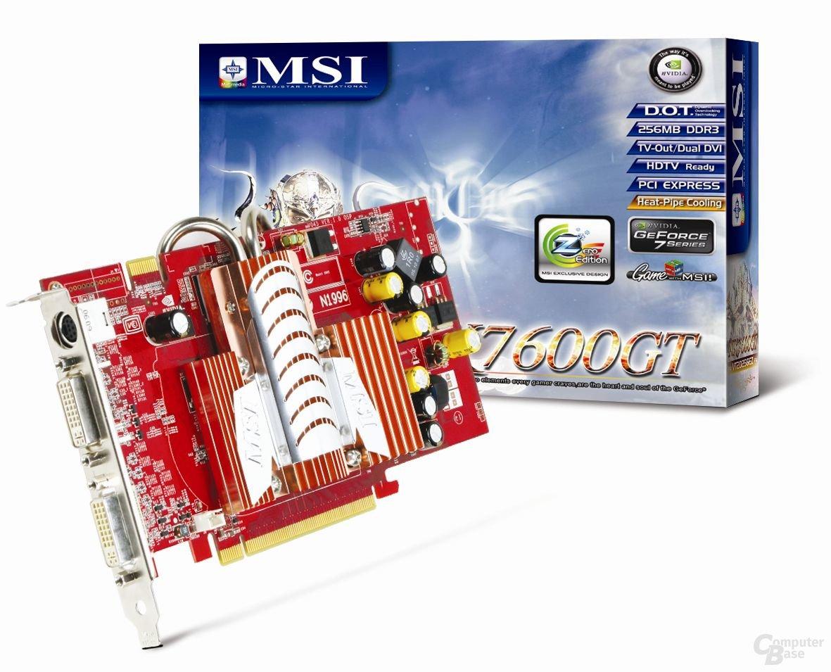 MSI NX7600GT-T2D256EZ