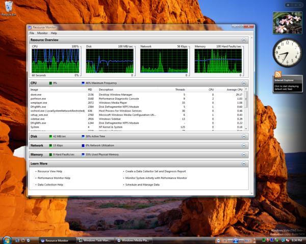 Windows Vista Build 5456 (Post-Beta 2) - Performancehungriges DWM