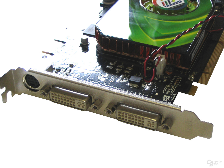 Inno3D GeForce 7600 GST Slotblech