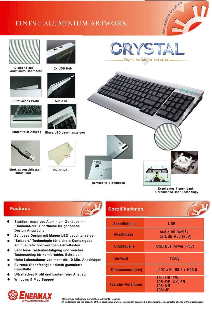 Crystal Datenblatt