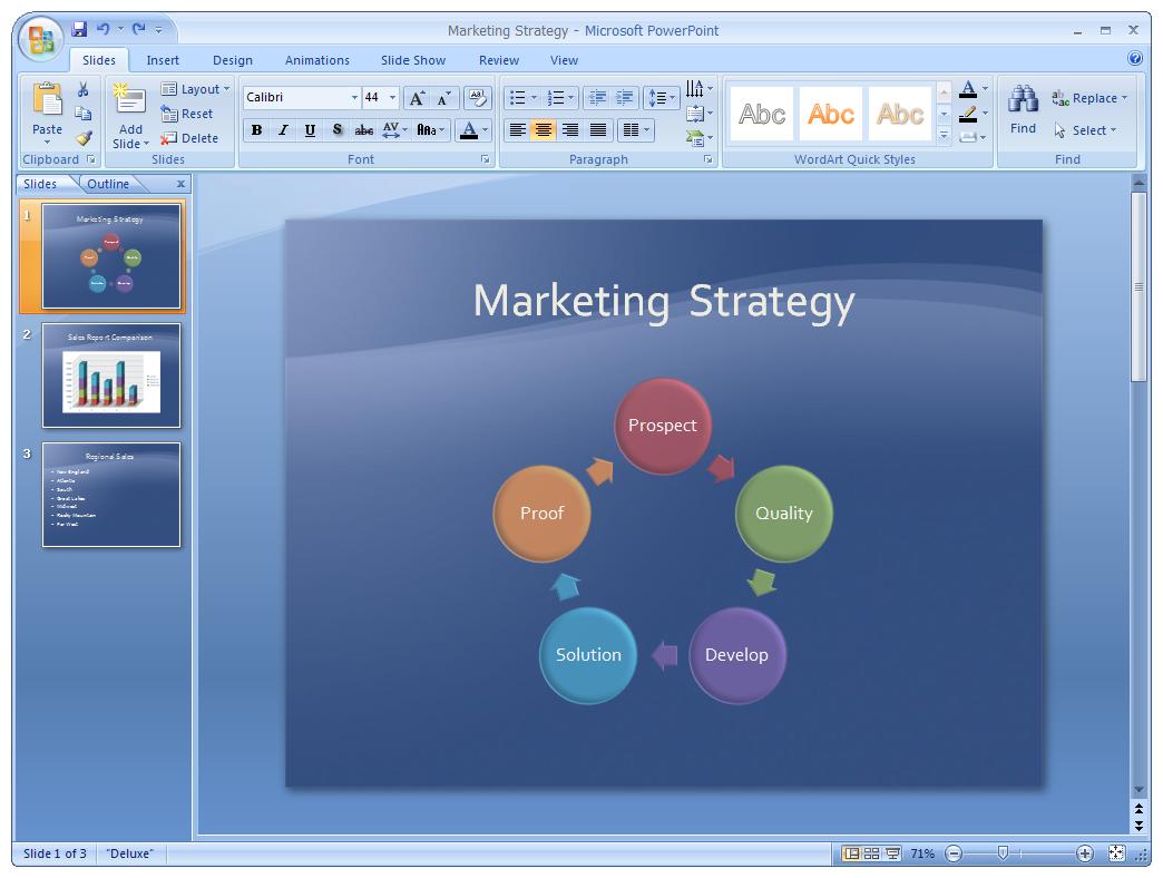 Microsoft PowerPoint 2007