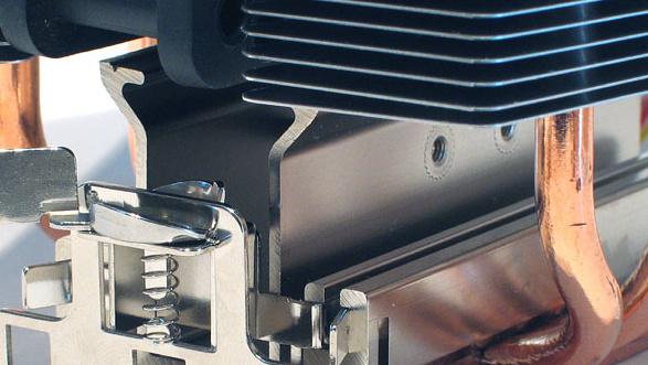 Scythe Mine Cooler im Test: Geniales Montagekonzept trifft gute Performance