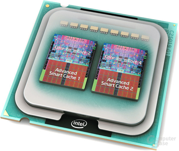 Intel Core 2 Extreme QX6700 Quad-Core-Prozessor