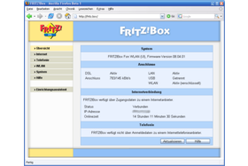 AVM Fritzbox Fon WLAN - Alte Firmware Version  08.04.01