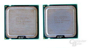 Intel Core 2 Duo E6700 (l) und Extreme X6800